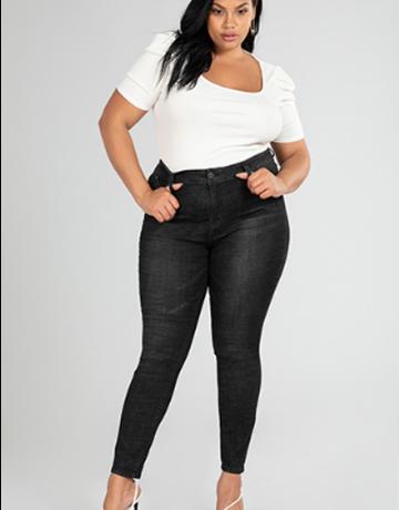 WBB High Rise Skinny Jeans