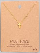 Dainty Cross Pendant Necklace