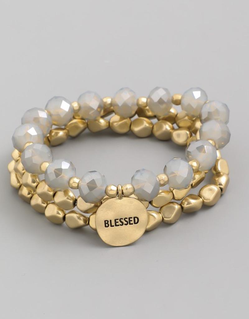 Blessed Braced Bracelet Set