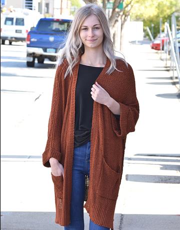 Half Sleeve Sweater Cardigan