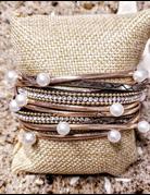 Magnetic Clasp Wrap Bracelet