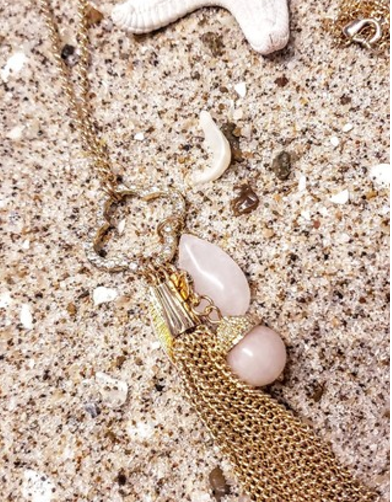 Bathing Beauty Charm Necklace