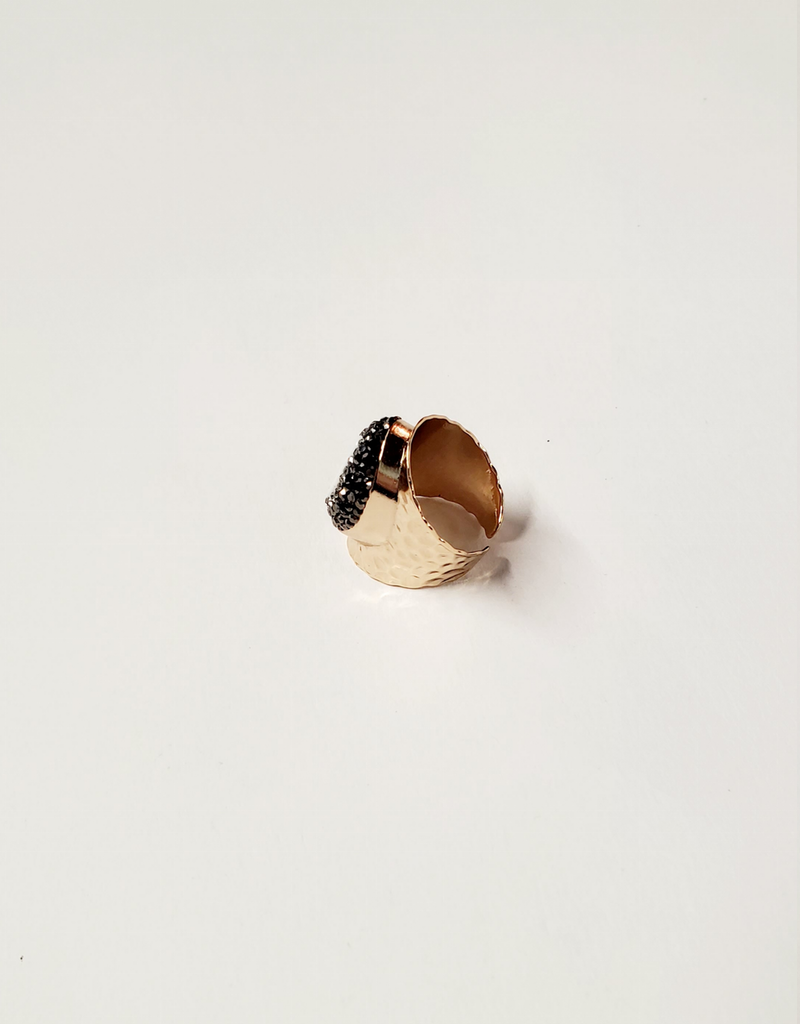 Iridescent Cuff Ring