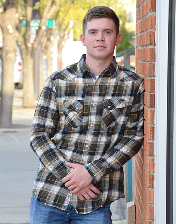 Andes L/S Western Flannel Shirt