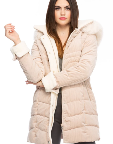 Strike a Cord Hooded Coat