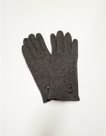 Button Fleece Gloves
