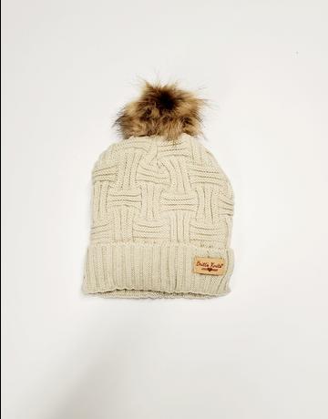 Knit Hat w/Pom Pom
