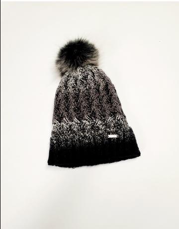 Chalet Knit Hat W/ Pom Pom