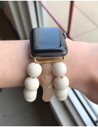 OMI Apple Watch Band - Wooden Cream