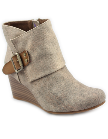 Baldwin Wedge Bootie