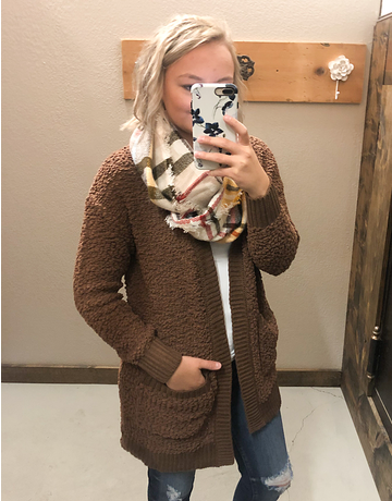 Popcorn Open Cardigan - 14 Colors