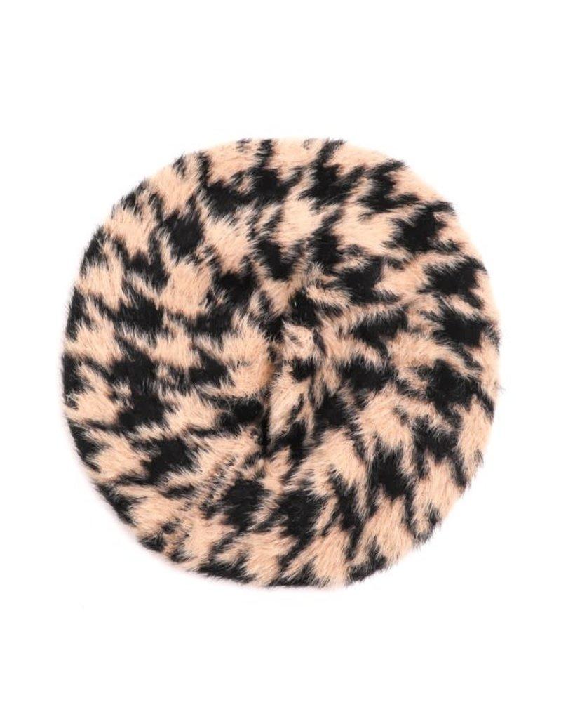 Fuzzy Faux Fur Berets