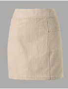 Solid Corduroy Mini Skirt