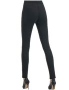 Luxe Suede Front Legging Dress Pant