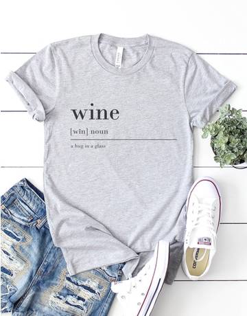 Wine Definition Graphic Tee