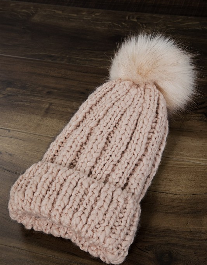 Soft Cable Knit Basic Beanie