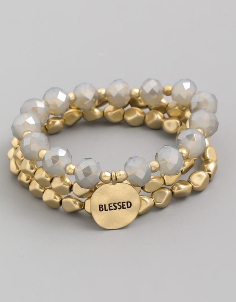 Blessed Braced Bracelet Set