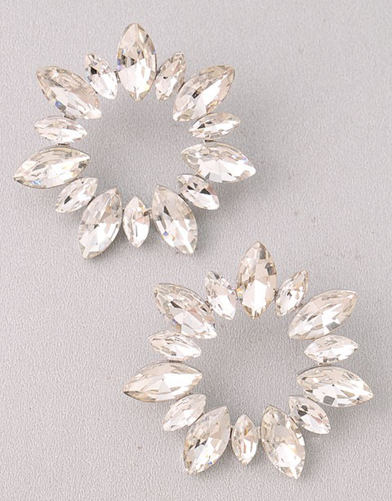 Studded Wreath Earring