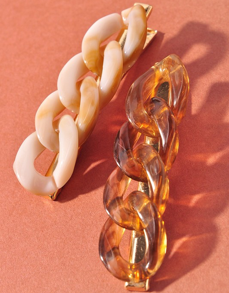 Chain Link Hair Clip