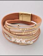 Wrap Pearl Bracelet
