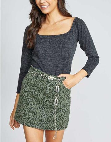 Night Moves Mini Skirt