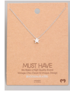 Mini Star Pendant Necklace