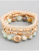 Stacked Beaded Bracelet