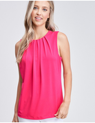 Solid Knit Sleeveless Top