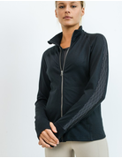 Diamond Jacquard Block Active Jacket