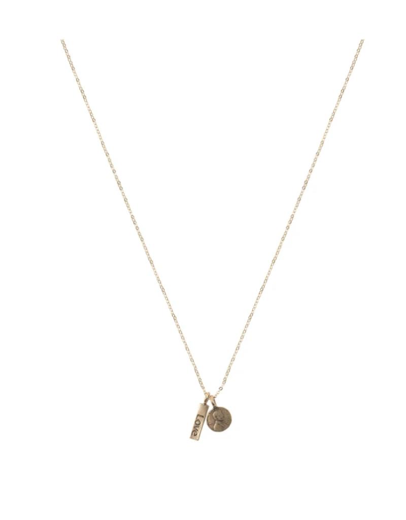 Petite Penny Necklace w/Charm