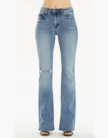 High Rise Boot Cut Jeans