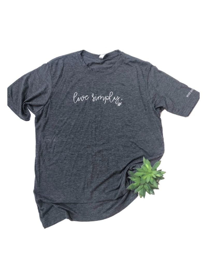 Live Simply Short Sleeve T-Shirt