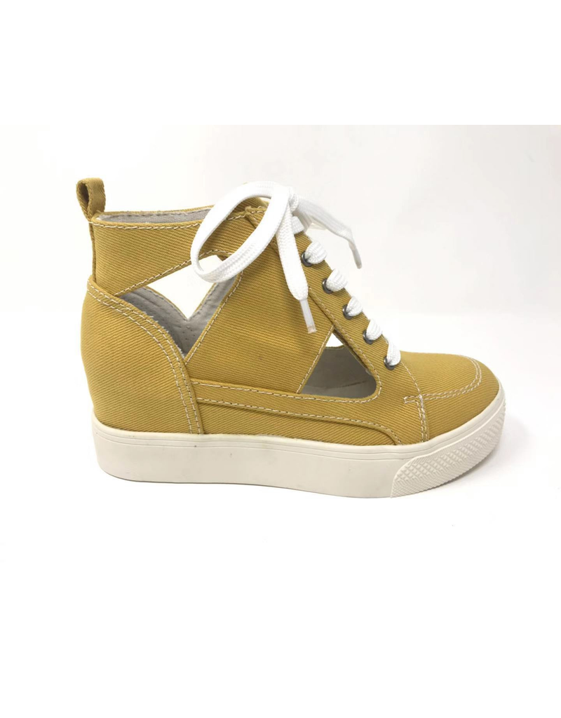 Esther Lace Up Wedge