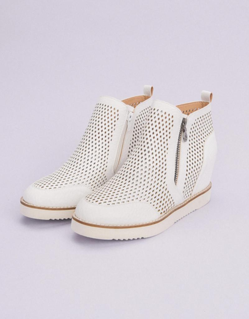 Perforated Sneaker Wedge