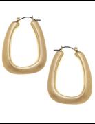 Lainey Puffed Hoop Earrings