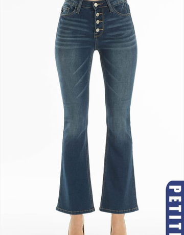 High Rise Petite Fit Bootcut Denim