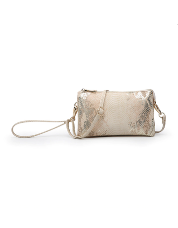 Python Riley Compartment Wallet/Crossbody
