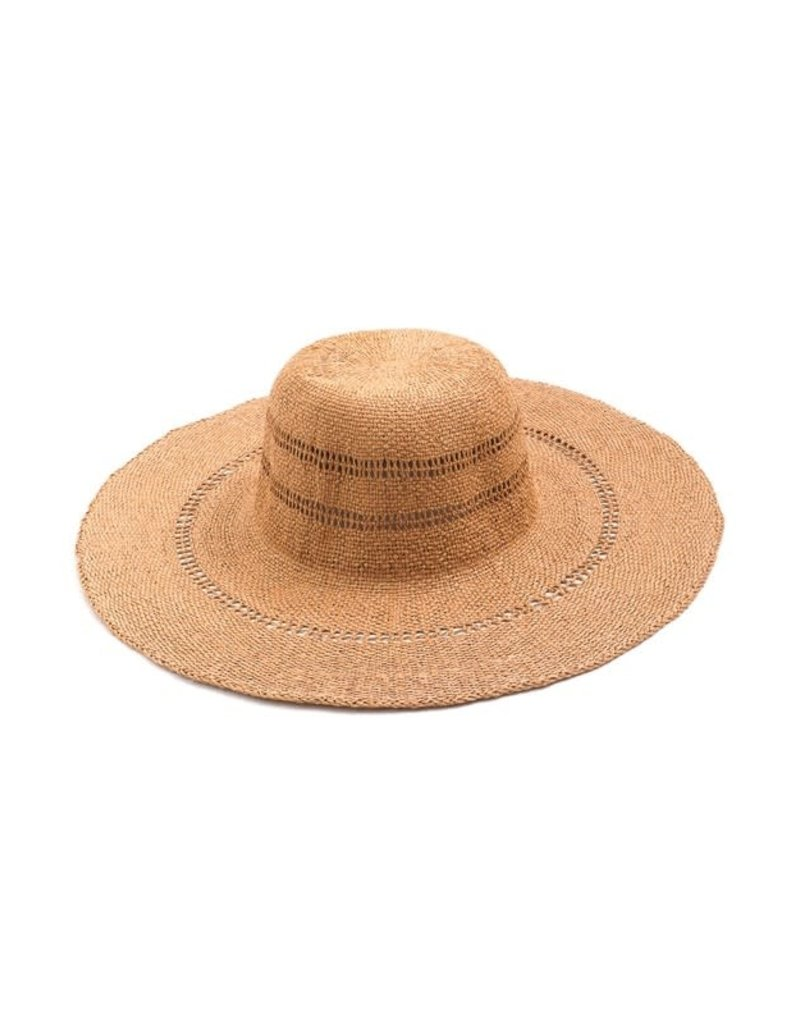Braided Floppy Sun Hat