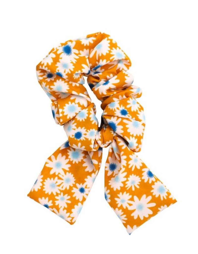 Flower Pineapple Scrunchies