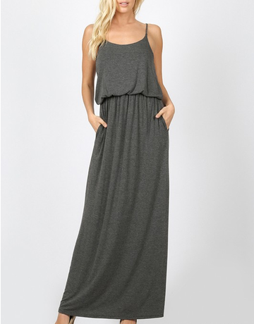 Two Layer Maxi Dress