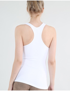 Ribbed Racer Back Tank