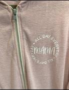 Mama Full Zip Sweatshirt