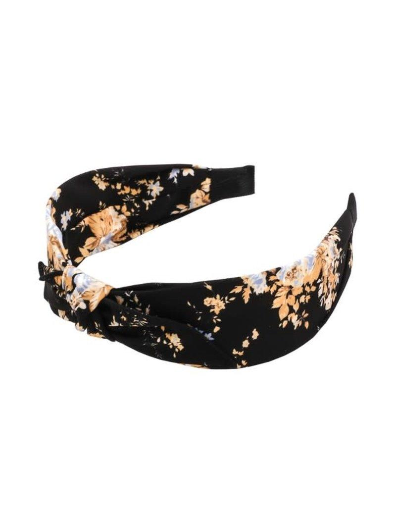 Floral Print Knot Headband