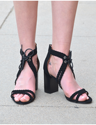 Pretty Braided Heeled Sandal