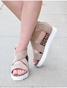Ace Wedge Sneaker Sandal