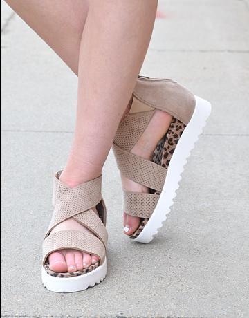 Ace Wedge Sneaker Sandal