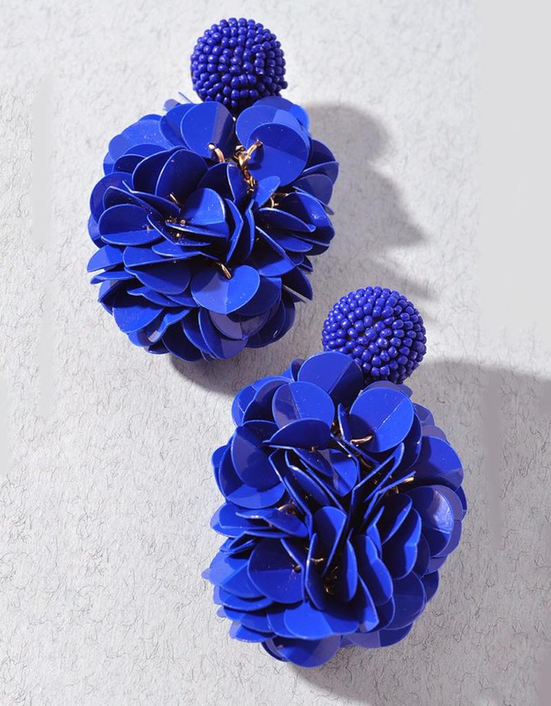 Floral Stud Earring