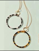 Circle Tortoise Necklace