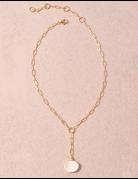 Chain & Stone Neckalce