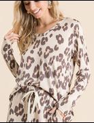 Leopard Soft Knit Long Sleeve